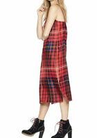 Tommy Hilfiger GIGI HADID HALO Jennifer 100% Silk Twill Slip Dress Sz UK 10 Us 6