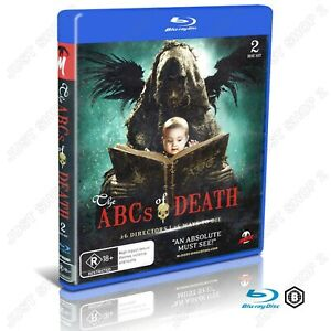 The ABC's Of Death : Horror Movie : Monster Pictures Film : Brand New Blu-ray
