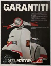 Pubblicità 1982 VESPA PIAGGIO STILMOTOR MOTO MOTOR advertising publicitè werbung