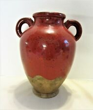 """Southern Living at Home Tuscan Verona Red Olive Jar Stoneware Pottery Large 12"""""""