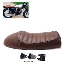 Brown Hump Custom Cafe Racer Seat Vintage Saddle For Honda CB350 CB450 CB750