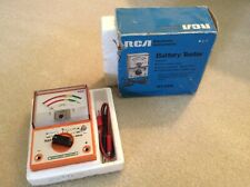 Vintage Rca Battery Tester - Wt-537A - original box