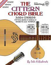 CITTERN SHORTSCALE CHORD BIBLE 3,024 CHORDS!!!