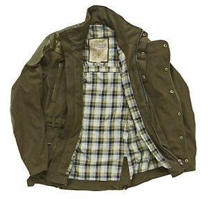 Triumph Endsleigh Motorcycle Jacket Olive Green - XL