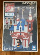 Vintage NOS Loc Blocs Disney Magic Kingdom Castle Mickey Minnie Building Blocks
