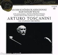 Toscanini Collection Vol. 40 - Blue Danube Waltz, La Danza Delle Ore Etc.  - CD