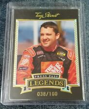 Tony Stewart - 2005 Press Pass Legends Gold #29H 038/100