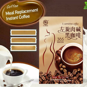 L-Carnitine Black Coffee Meal Replacement Instant Coffee Drink Coffee New
