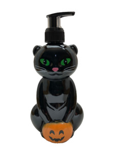 Halloween Black Cat Pumpkin Soap Dispenser Scented Hand Soap