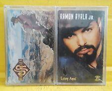 RAMON AYALA JR : 2 Cassette lot - El Principe / Estoy Aqui - Nuevo Sellado