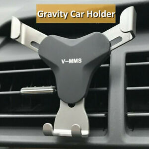 Universal Gravity djustable Car ir Vent Holder Cell Mobile Phone Mount  *