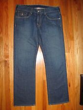 "TRUE RELIGION sz 36 (38 X 34.5"" is act. measure) Ricky, sec. 34, NICE (p. 4552)"