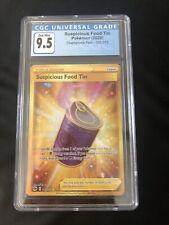 Pokemon TCG: Champions Path Suspicious Food Tin SR 080/073 - CGC 9.5 GM PSA 10?