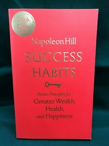 SUCCESS HABITS: PROVEN PRINCIPLES FOR GREATER WEALTH - Napoleon Hill - NEW