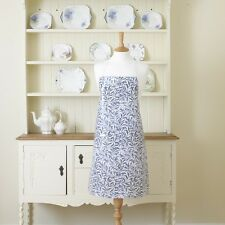 William Morris Willow Bough Blue Floral Pvc / Olicloth Apron