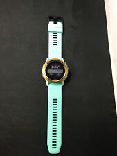 Garmin Fenix 3 Sapphire GPS Training Watch, Rose Gold Teal Band A5260