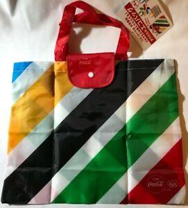 Coca-Cola ECO Reusable Shopping Bag Tokyo 2020 Olympic Japan Limited Foldable