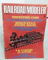 Railroad Modeler Magazine March 1973 Z N HO S O G vintage