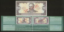 Ukraine Buklet to issue first currency 20 Hryvna 1992