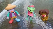 Disneys Jo Jo's Circus rubber bendable Pop Rocket figures figurines cake toppers