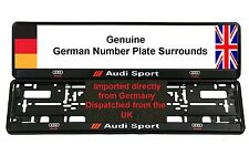 AUDI Sport NUMERO TARGA CIRCONDA x 2 TT A3 S3 S4 RS4