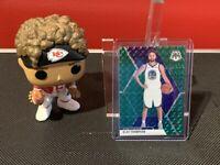 2019-20 Panini Mosaic Klay Thompson Green Mosaic Prizm #80 Golden State Warriors