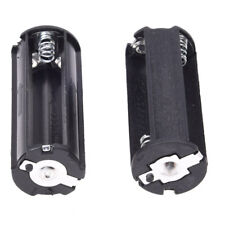 2Pcs Black Battery Holder for 3 x 1.5V AAA Batteries Flashlight Torch C1L6