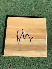 KANSAS JAYHAWKS BILL SELF SIGNED FLOOR TILE BOARD COA KU AUTHENTIC AUTOGRAPH
