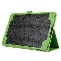 "Flip Leather Case Cover Stand for Samsung Galaxy Tab 8.0 A ""T350 green X1R4"