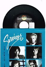 "Survivor  Is This Love/can't Let You Go Single W/P  7""   45 RPM"