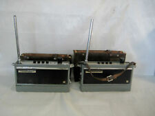 Vintage Lafayette HA-150 Walkie Talkie 2 Way Radios 1 Watt Set Of 2
