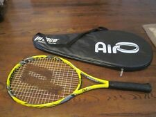 """PRINCE AIRO REACTOR OVERSIZE TENNIS RACQUET 4 1/4"""" GRIP 110 SQ IN COVER-ONLY ONE"""