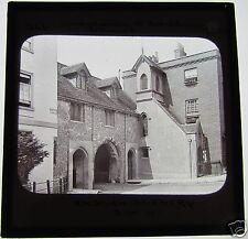 Glass Magic lantern slide ST SWITHINS CHURCH WINCHESTER 1890 GWW ENGLISH SCENERY