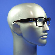 Screen Glasses Computer TV Anti Reflective No Glare Heavy Rectangle Tort. Frame