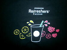 STARBUCKS REFRESHERS T SHIRT Re-Energize Fruit Green Coffee Extract Beverages M