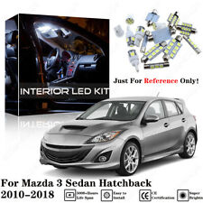5X White Interior LED Light Package Kit For Mazda 3 Sedan Hatchback 2010-17 2018