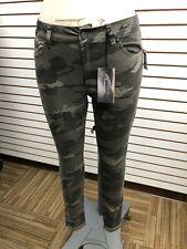 REFUGE Faded Wash Camo Skinny Jeans