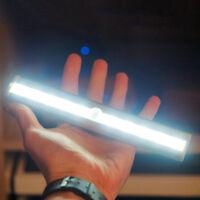 LED Night Light Bar w Magnetic Strip Wardrobe Stairway Light Lamp