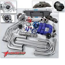 T04E T3 T3/T4 Turbo Kit + Turbonetics Turbo RSX TYPE-S Base Civic HB EP3 SI K20