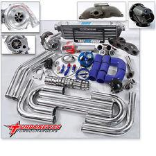 T04E T3 T3/T4 Turbo Kit + Turbonetics Turbo RSX TYPE-S Base Civic HB EP3 SI K20