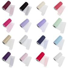 Bridal 100% Polyester Assorted Colour Tulle Ribbons Trims Wedding Supplies Craft