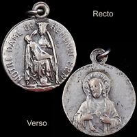 Notre Dame de Pitie de Remonot Vintage French Pilgrimage Medal