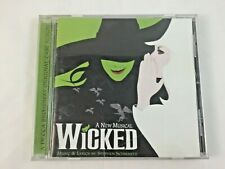 Wicked: A New Musical Original Broadway Cast Recording CD 2003