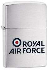 Zippo Royal Air Force - Windproof Lighter - Brushed Chrome -60003642 - Gift Box