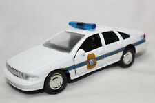 Road Champs 1:43 Scale 1998 CHEVROLET CAPRICE MONTPELIER POLICE - LOOSE