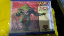 Magic the gathering Starter Gift Box - incomplete.