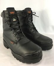 STC MASKA 22231 Insulated Safety Toe Waterproof Black Work Boots Size 10