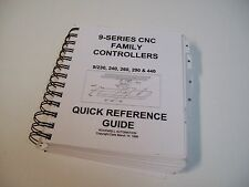 Rockwell Seres 9 Cnc Quick Reference Guide Manual - Used - Free Shipping