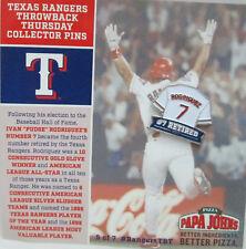 5026f2bbf44 MLB Texas Rangers SGA Throwback Thursday IVAN