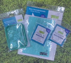 Lawn Fawn stamp shammy, shammy case & acrylic blocks bundle!